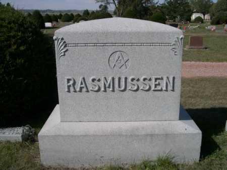 RASMUSSEN, FAMILY - Dawes County, Nebraska   FAMILY RASMUSSEN - Nebraska Gravestone Photos