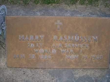 RASMUSSEN, HARRY - Dawes County, Nebraska | HARRY RASMUSSEN - Nebraska Gravestone Photos