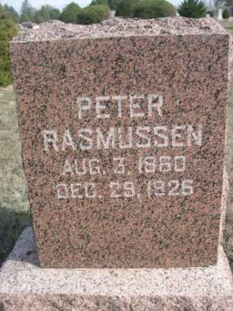 RASMUSSEN, PETER - Dawes County, Nebraska | PETER RASMUSSEN - Nebraska Gravestone Photos
