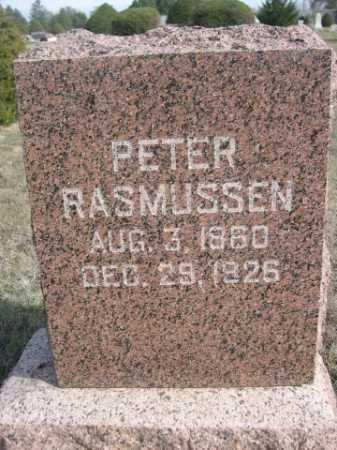 RASMUSSEN, PETER - Dawes County, Nebraska   PETER RASMUSSEN - Nebraska Gravestone Photos