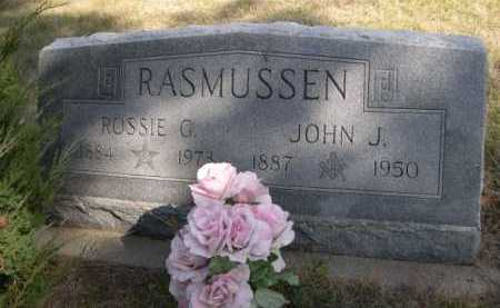 RASMUSSEN, JOHN J. - Dawes County, Nebraska   JOHN J. RASMUSSEN - Nebraska Gravestone Photos