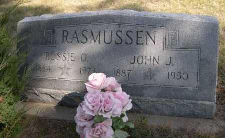 RASMUSSEN, JOHN J. - Dawes County, Nebraska | JOHN J. RASMUSSEN - Nebraska Gravestone Photos