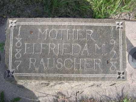 RAUSCHER, ELFRIEDA M. - Dawes County, Nebraska   ELFRIEDA M. RAUSCHER - Nebraska Gravestone Photos
