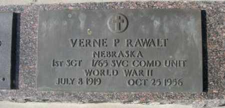 RAWALT, VERNE P. - Dawes County, Nebraska   VERNE P. RAWALT - Nebraska Gravestone Photos