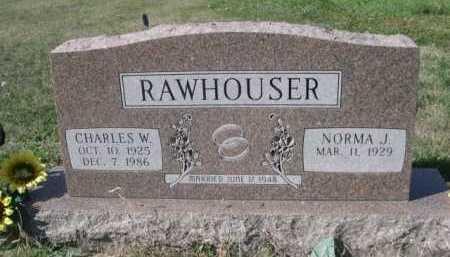 RAWHOUSER, NORMA J. - Dawes County, Nebraska   NORMA J. RAWHOUSER - Nebraska Gravestone Photos