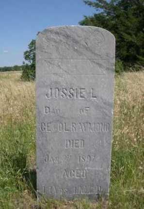 RAYMOND, JOSSIE L. - Dawes County, Nebraska | JOSSIE L. RAYMOND - Nebraska Gravestone Photos