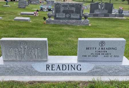 READING, JOHN W. - Dawes County, Nebraska   JOHN W. READING - Nebraska Gravestone Photos