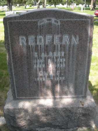 REDFERN, C. ALBERT - Dawes County, Nebraska   C. ALBERT REDFERN - Nebraska Gravestone Photos