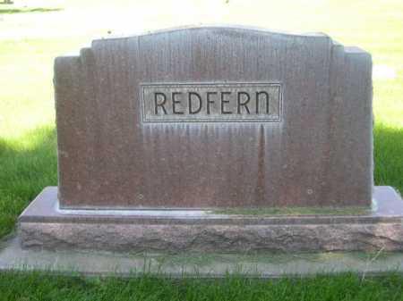 REDFERN, FAMILY - Dawes County, Nebraska   FAMILY REDFERN - Nebraska Gravestone Photos