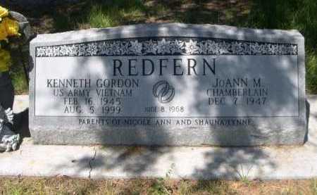REDFERN, KENNETH GORDON - Dawes County, Nebraska | KENNETH GORDON REDFERN - Nebraska Gravestone Photos