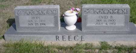 REECE, HOPE - Dawes County, Nebraska | HOPE REECE - Nebraska Gravestone Photos