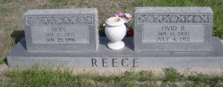 REECE, HOPE - Dawes County, Nebraska | HOPE REECE - Nebraska Gravestone Photos