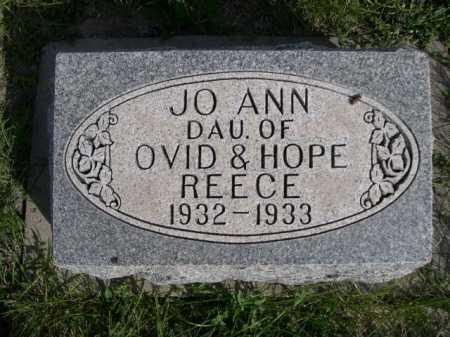 REECE, JO ANN - Dawes County, Nebraska | JO ANN REECE - Nebraska Gravestone Photos