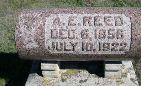 REED, A. E. - Dawes County, Nebraska | A. E. REED - Nebraska Gravestone Photos
