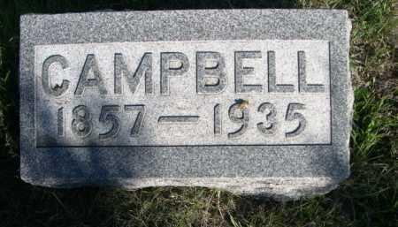 REED, CAMMPBELL - Dawes County, Nebraska | CAMMPBELL REED - Nebraska Gravestone Photos