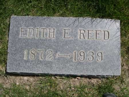 REED, EDITH E. - Dawes County, Nebraska | EDITH E. REED - Nebraska Gravestone Photos