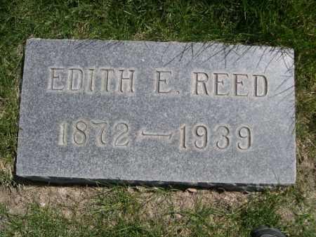 REED, EDITH E. - Dawes County, Nebraska | EDITH E. REED - Nebraska Gravestone Photos