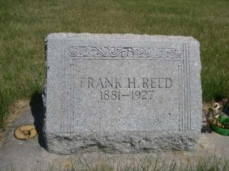 REED, FRANK H. - Dawes County, Nebraska | FRANK H. REED - Nebraska Gravestone Photos