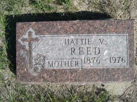 REED, HATTIE V. - Dawes County, Nebraska | HATTIE V. REED - Nebraska Gravestone Photos