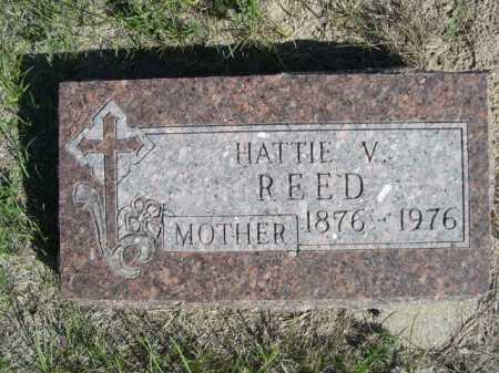 REED, HATTIE V. - Dawes County, Nebraska | HATTIE V. REED - Nebraska Gravestone Photos