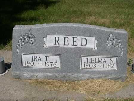 REED, THELMA N. - Dawes County, Nebraska   THELMA N. REED - Nebraska Gravestone Photos