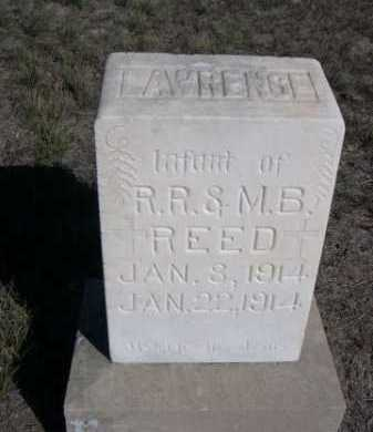 REED, LAWRENCE - Dawes County, Nebraska | LAWRENCE REED - Nebraska Gravestone Photos