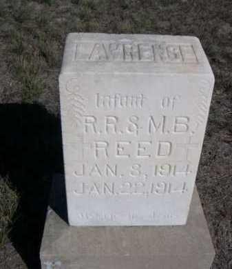 REED, LAWRENCE - Dawes County, Nebraska | LAWRENCE REED - Nebraska Gravestone Photos
