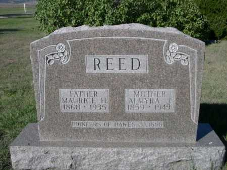 REED, MAURICE H. - Dawes County, Nebraska   MAURICE H. REED - Nebraska Gravestone Photos