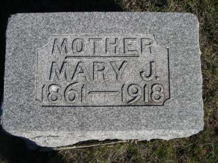 REED, MARY J. - Dawes County, Nebraska | MARY J. REED - Nebraska Gravestone Photos