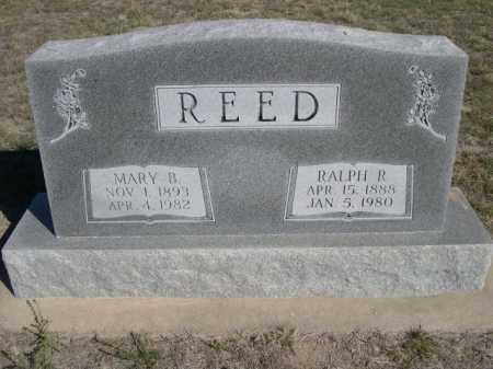 REED, RALPH R. - Dawes County, Nebraska | RALPH R. REED - Nebraska Gravestone Photos