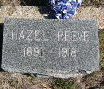 REEVE, HAZEL - Dawes County, Nebraska   HAZEL REEVE - Nebraska Gravestone Photos