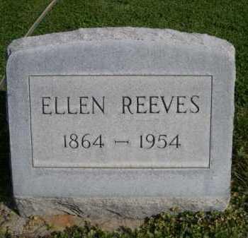 REEVES, ELLEN - Dawes County, Nebraska | ELLEN REEVES - Nebraska Gravestone Photos