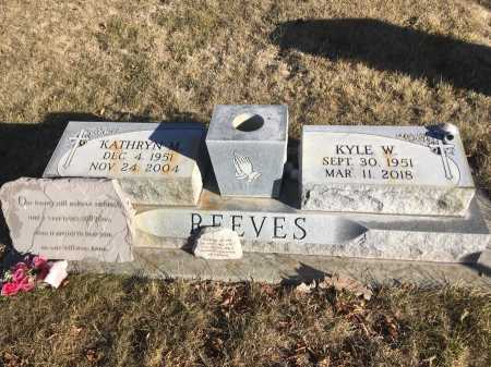 REEVES, KATHRYN M. - Dawes County, Nebraska | KATHRYN M. REEVES - Nebraska Gravestone Photos