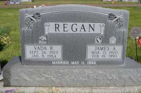 REGAN, VADA R. - Dawes County, Nebraska | VADA R. REGAN - Nebraska Gravestone Photos