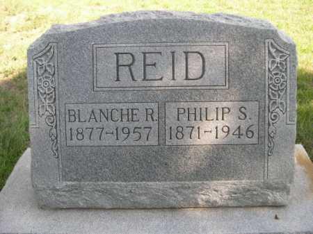 REID, BLANCHE R. - Dawes County, Nebraska | BLANCHE R. REID - Nebraska Gravestone Photos