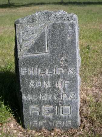 REID, PHILLIPS S. - Dawes County, Nebraska | PHILLIPS S. REID - Nebraska Gravestone Photos