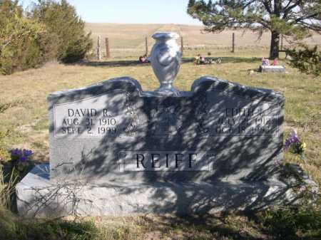REIFF, DAVID R. - Dawes County, Nebraska | DAVID R. REIFF - Nebraska Gravestone Photos