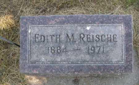 REISCHE, EDITH M. - Dawes County, Nebraska   EDITH M. REISCHE - Nebraska Gravestone Photos