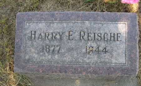 REISCHE, HARRY E. - Dawes County, Nebraska | HARRY E. REISCHE - Nebraska Gravestone Photos