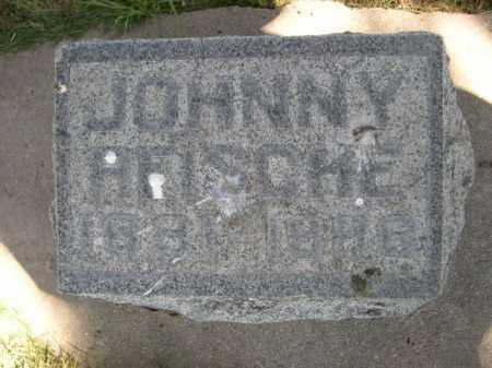 REISCHE, JOHNNY - Dawes County, Nebraska | JOHNNY REISCHE - Nebraska Gravestone Photos
