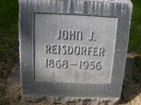 REISDORFER, JOHN J. - Dawes County, Nebraska | JOHN J. REISDORFER - Nebraska Gravestone Photos