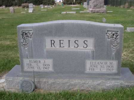 REISS, ELMER J. - Dawes County, Nebraska | ELMER J. REISS - Nebraska Gravestone Photos