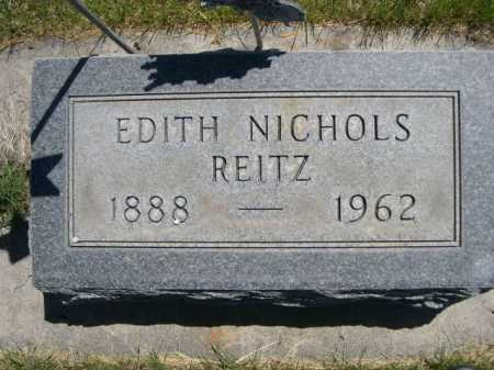 REITZ, EDITH - Dawes County, Nebraska | EDITH REITZ - Nebraska Gravestone Photos