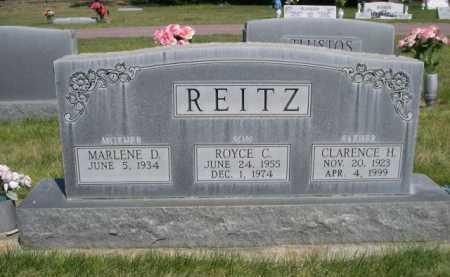 REITZ, ROYCE C. - Dawes County, Nebraska | ROYCE C. REITZ - Nebraska Gravestone Photos