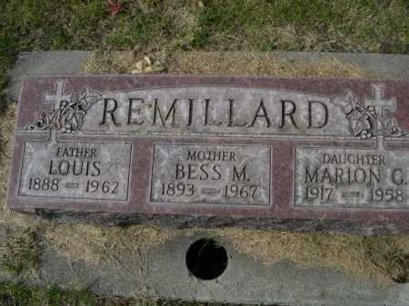 REMILLARD, MARION G. - Dawes County, Nebraska | MARION G. REMILLARD - Nebraska Gravestone Photos