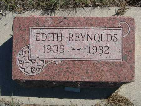 REYNOLDS, EDITH - Dawes County, Nebraska | EDITH REYNOLDS - Nebraska Gravestone Photos