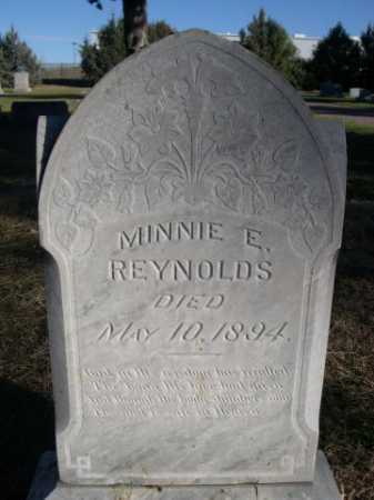 REYNOLDS, MINNIE E. - Dawes County, Nebraska | MINNIE E. REYNOLDS - Nebraska Gravestone Photos