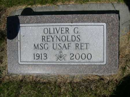 REYNOLDS, OLIVER G. - Dawes County, Nebraska   OLIVER G. REYNOLDS - Nebraska Gravestone Photos
