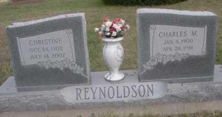 REYNOLDSON, CHARLES M. - Dawes County, Nebraska | CHARLES M. REYNOLDSON - Nebraska Gravestone Photos