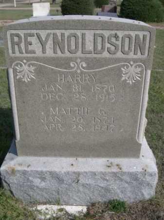 REYNOLDSON, MATTIE G. - Dawes County, Nebraska | MATTIE G. REYNOLDSON - Nebraska Gravestone Photos